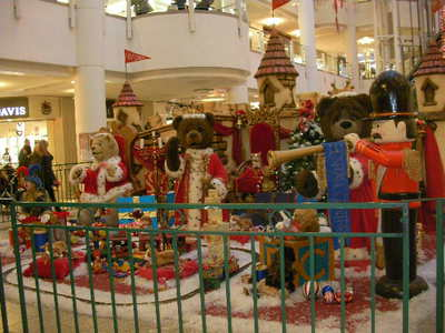 bentalls centre, kingston, teddy bear