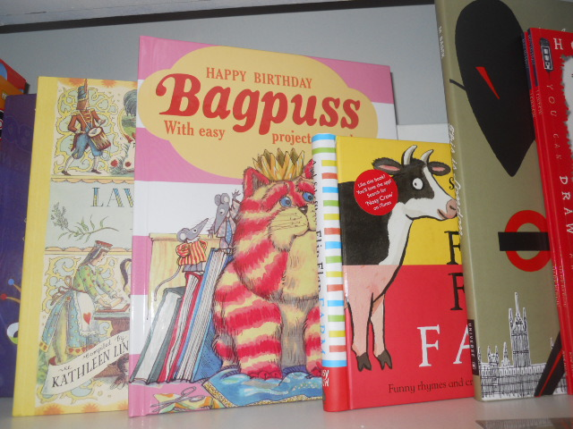 clapham common, clapham books, bagpuss