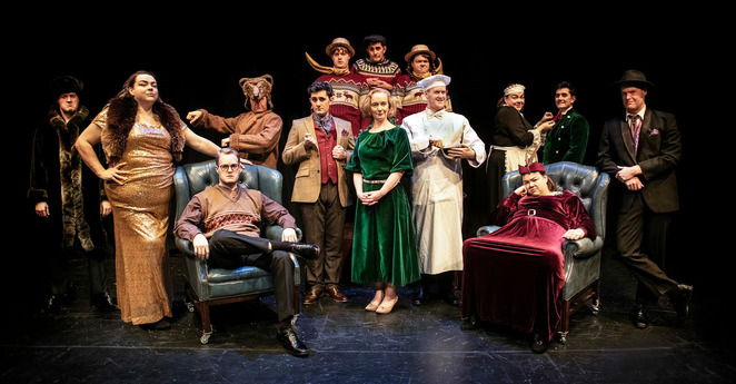 Crimes of the Christmas Pudding, Lichfield Garrick