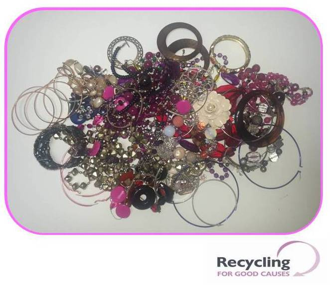 freedom from torture, recycling for good causes, jewellery