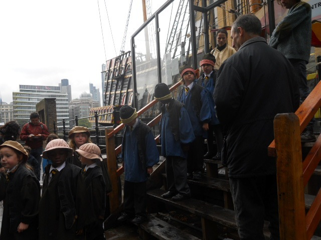 golden hinde, living history tour