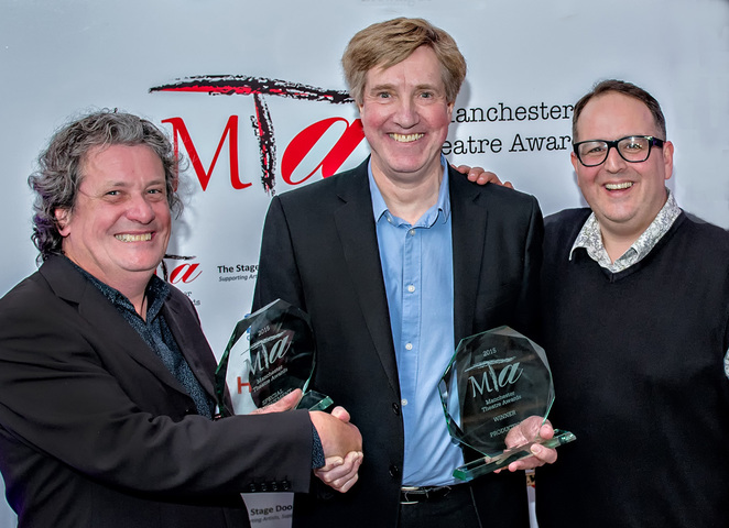 Manchester Theatre Awards HOME David Thacker Justin Moorhouse