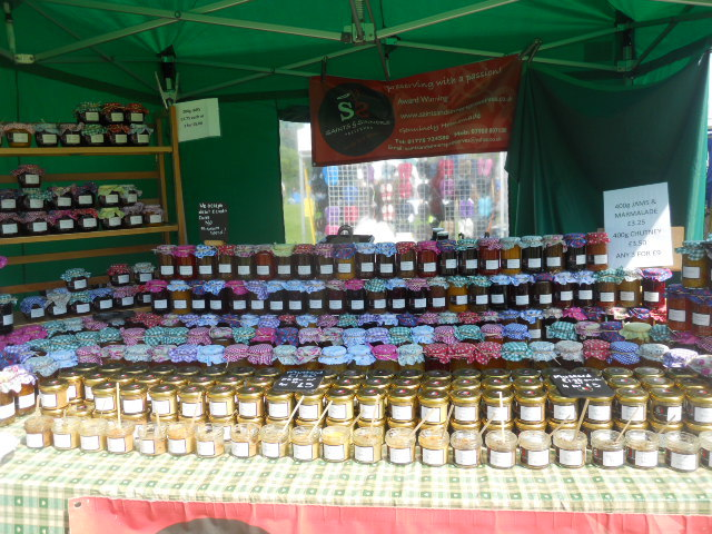 morden hall country show, oakleigh fairs, saints & sinners preserves