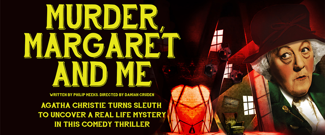 murder margaret and me, plays, salisbury playhouse, theatre, mystery