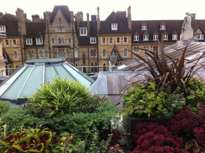 Randolph Hotel Oxford Ashmolean Museum Rooftop Terrace view