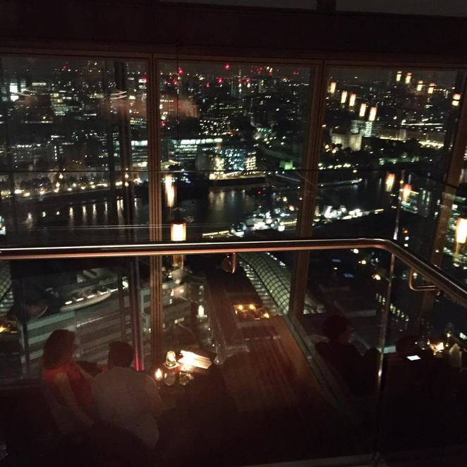 Restaurant City London Dining Dinner Drinks Date