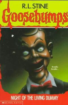 slappy, night of the living dummy, goosebumps, r.l. stein