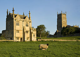 St James, a wool church, and the East Banqueting House, Chipping Campden
