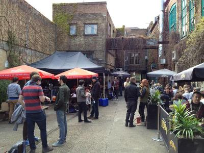 The Strongroom Courtyard, Music, Shoreditch, Bar, Scene, Recording studio