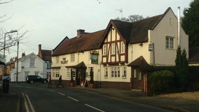 The Talbot, best gastro country pubs near Birmingham