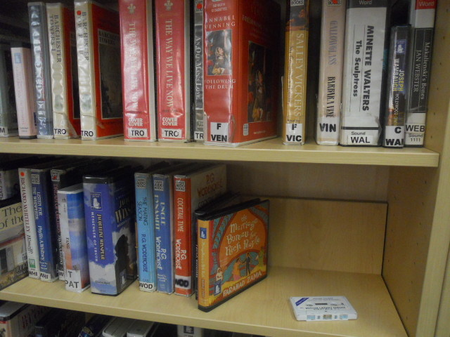 wimbledon library, tape cassettes