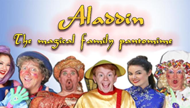 aladdin, pantomime, theatre, christmas pantomime, groundlings theatre, southampton theatre, family theatre