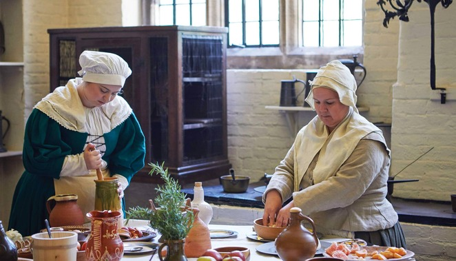 birmingham heritage week 2019, aston hall, servants life