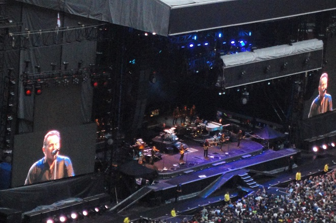 Bruce Springsteen Wrecking Ball Tour at Wembley Stadium,