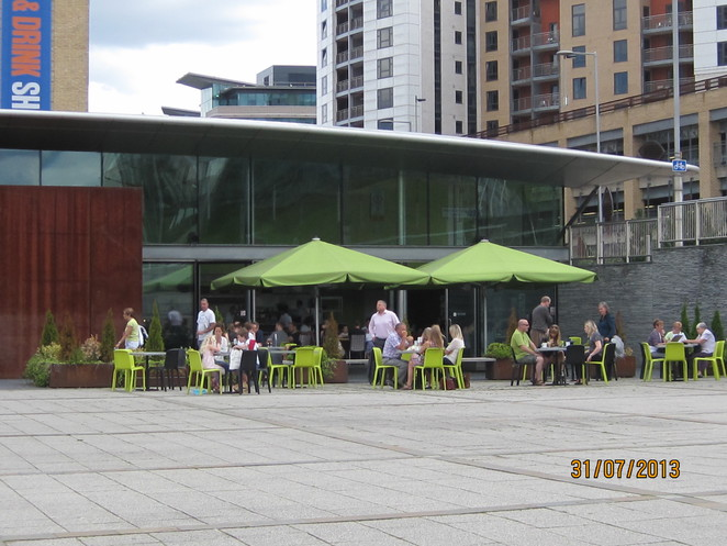 Cafe Culture Outside the Baltic