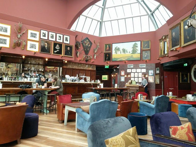 Cosy Club, corn exchange, eateries, food, meal, love, special meal, pudding, dessert