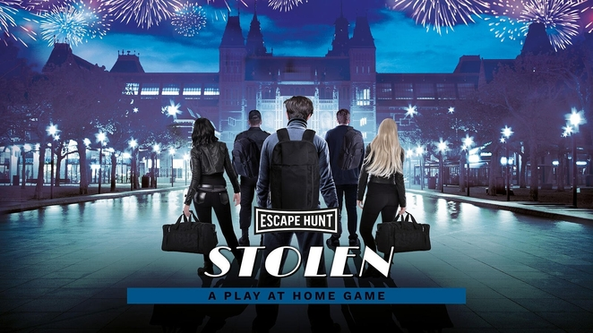 Escape Hunt, play at home games, stolen game, review