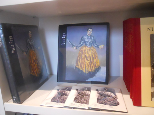 house of illustration, king's cross, paula rego, honore daumier, scandal, gossips, and other stories, giftshop