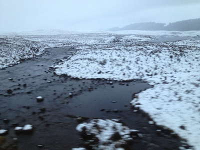 Rannoch Moor from the train (c) JP Mundy 2012