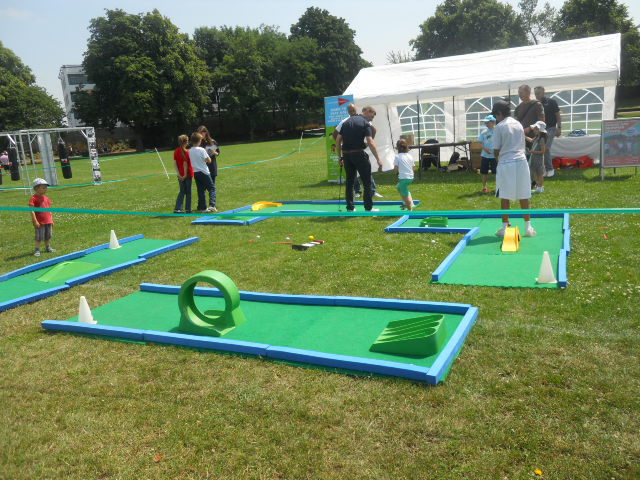 king george's park, get active wandsworth festival, get rhetoric, golf, putting, crazy golf