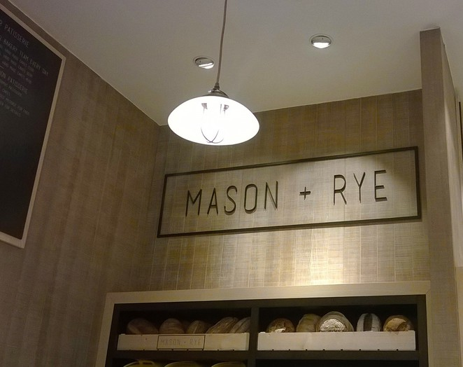 mason and rye fenwicks food hall cafe bakery patisserie