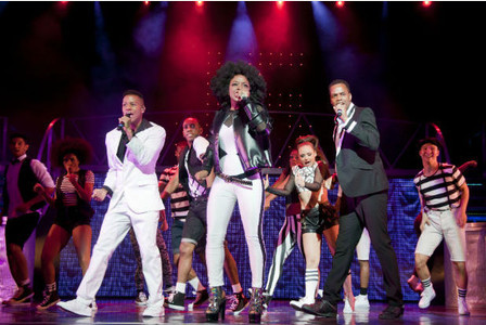 Thriller live, michael jackson musical, uk tour, birmingham new alexandra theatre, cleopatra Higgins