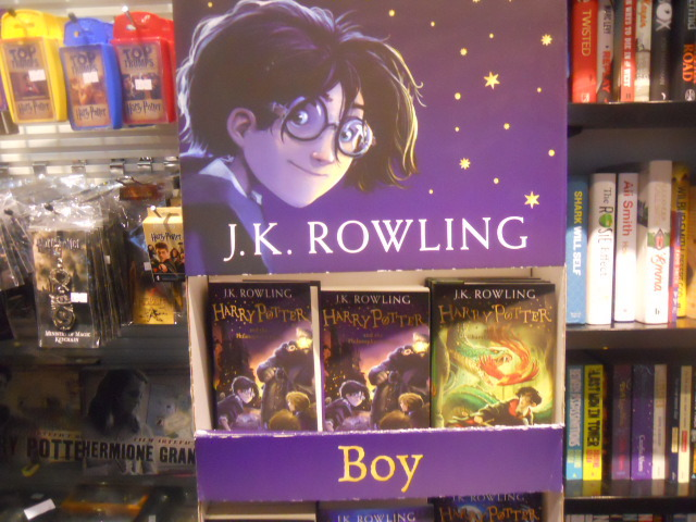 watermark books, king's cross, harry potter