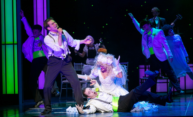 Wedding singer uk tour, Birmingham new Alexandra theatre