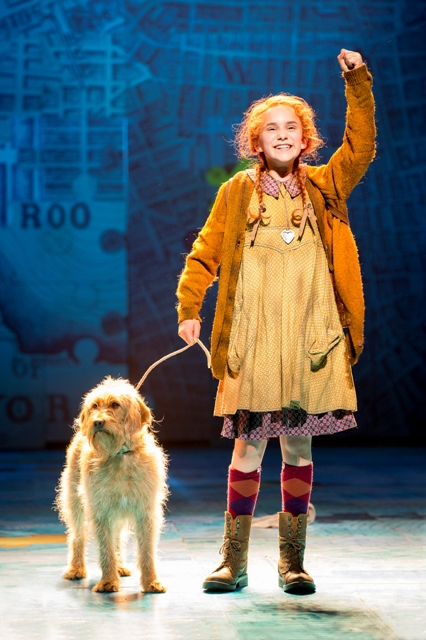 Annie, Musical, UK Tour, Craig Revel Horwood, Birmingham Hippodrome
