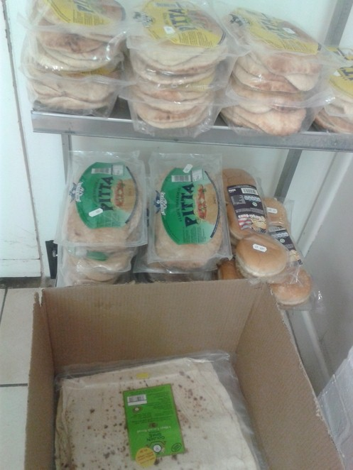 Bearwood Halal meat, pitta bread,