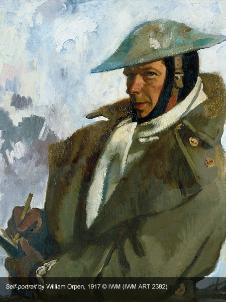 great war in portraits, national portrait gallery, william orpen