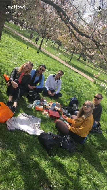 Park London Outdoors Summer Activities Food Fun