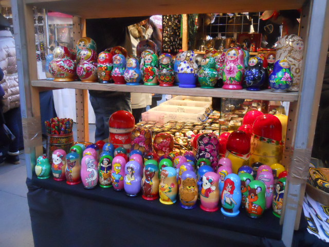piccadilly market, russian arts and crafts