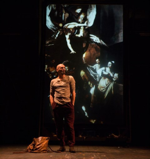 The Seven Acts of Mercy, The RSC, Caravaggio, Tom Georgeson, Andres Lustgarten