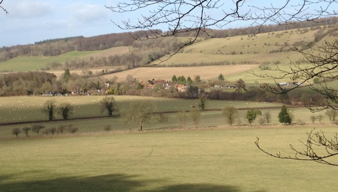Turville Village, Chiltern Hills, Buckinghamshire