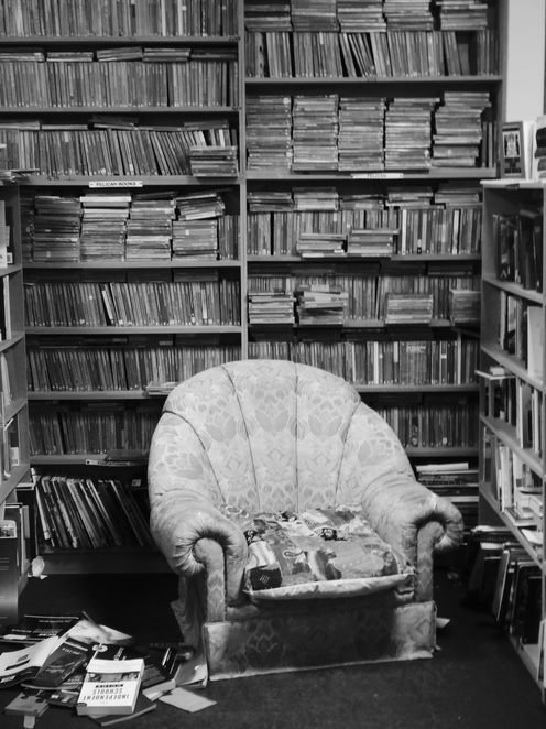 A chair to read in