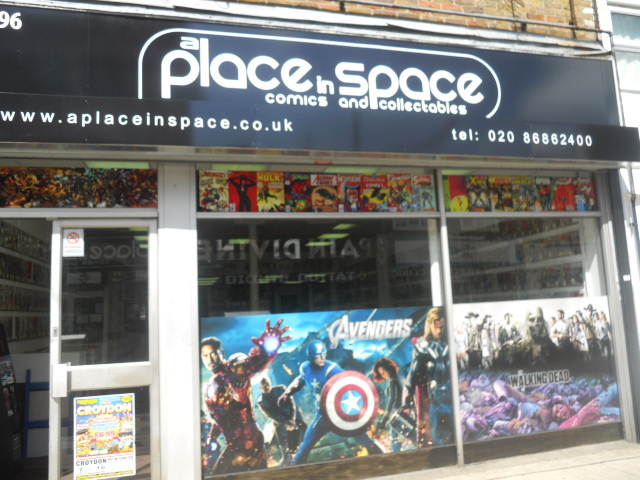 a place in space, comics, collectibles,