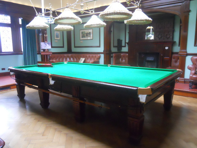 honeywood museum, john pattinson kirk, drawing room, snooker