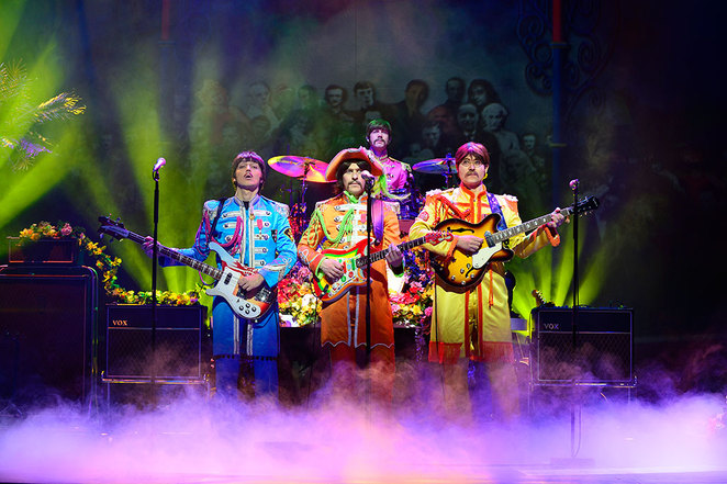 Let It Be, Beatles musical, Birmingham Hippdrome, UK Tour