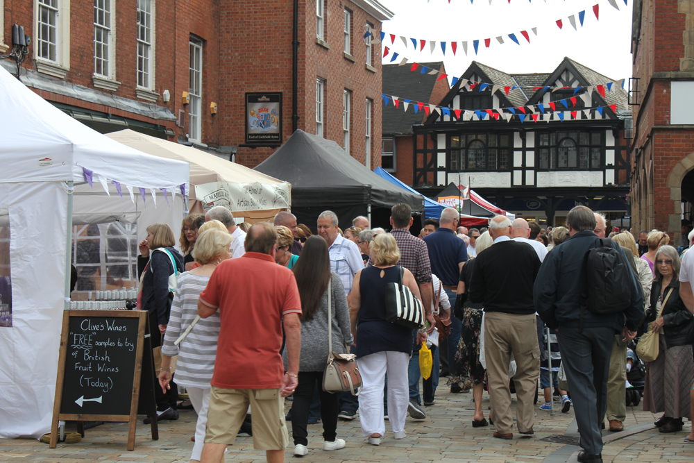 How Many Stalls At Lichfield Food Festival