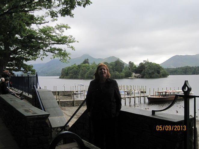 Margaret by lake Derwentwater