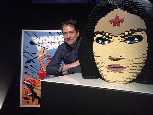 Nathan Sawaya, DC Entertainment, Batman, Superman, The Art of Brick: DC Super Heroes, South Bank London, The Joker, Lego, Harley Quinn
