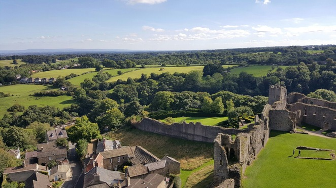 Richmond Castle english heritage north yorkshire