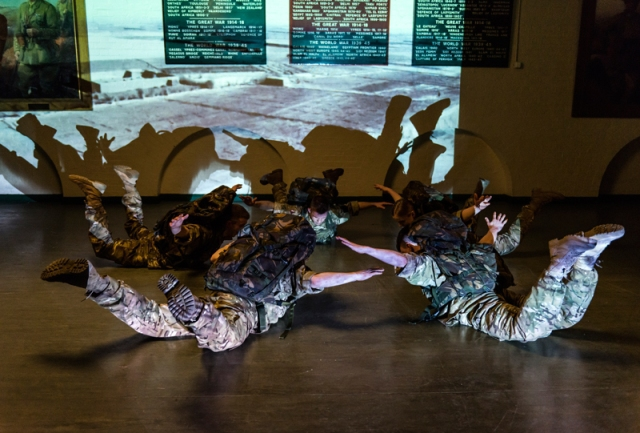 Rosie Kay Dance Company, 5 Soldiers, Rosie Kay interview