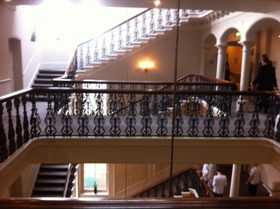 Royal York Hotel, staircase, York