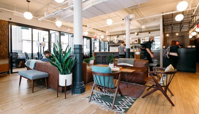 WeWork, Twine, freelance, networking, tech sector, speed dating, meeting, business