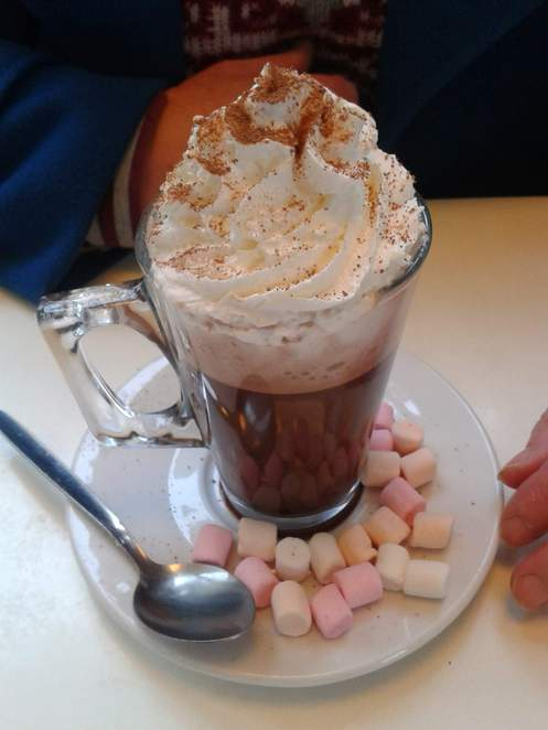 Chocolate Orange Hot Chocolate