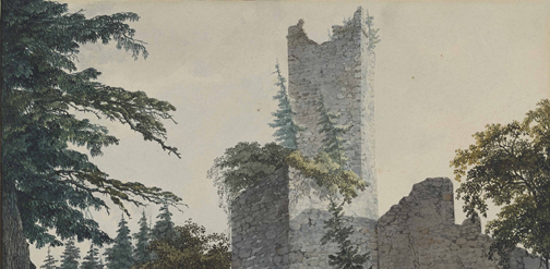 dialogue with nature, courtauld galler, romantic landscapes from britain and germany