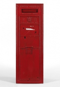 Early Queen Victoria Wall Box