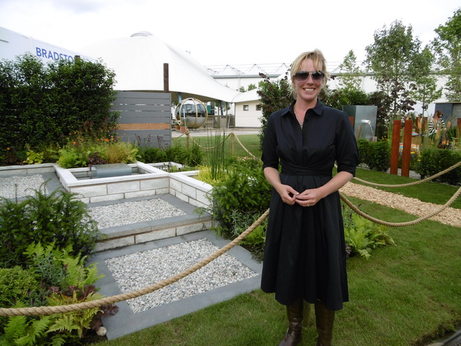 Gardeners World Live 2014 Elspeth Stockwell